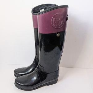 Hunter tall boots size 8